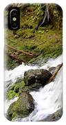 River Waterfall IPhone Case