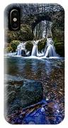 River Waterfalls IPhone Case