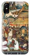 Rivera: Pre-columbian Life IPhone Case