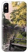 Riverwalk Iv IPhone Case