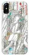 Road Crossing. 6 February, 2015 IPhone Case