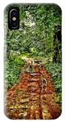 Road In The Wilderness IPhone Case