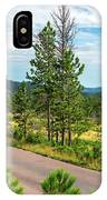 Road Through Custer State Park IPhone Case