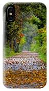 Road To Autumn IPhone Case