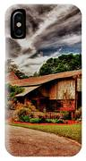 Road To Shiloh Farm's Barn IPhone Case