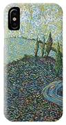 Road To Tuscany IPhone Case