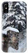 Road To Yosemite National Park IPhone Case
