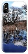 Roadside Pond I IPhone Case