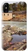 Roanoke River Niagra Rd Dam IPhone Case