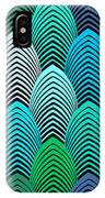 Roaring 20's Turquoise IPhone Case