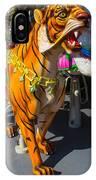 Roaring Tiger Ride IPhone Case