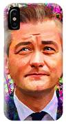 Robert Biedron Portrait 322a IPhone Case