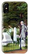 Robert E. Lee Visits Stonewall Jackson's Grave IPhone X Case