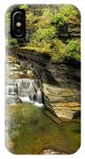 Robert H. Treman State Park Gorge Falls  IPhone Case