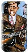 Robert Johnson Mississippi Delta Blues IPhone Case