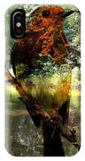 Robin By The River IPhone Case