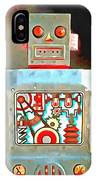 Robot Pop Art R-1 IPhone Case