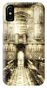Rochester Cathedral Vintage IPhone Case