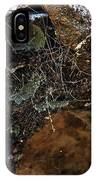Rock Abstract With A Web IPhone Case