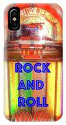Rock And Roll Jukebox IPhone Case
