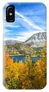 Rock Creek Lake Fall Panorama IPhone Case