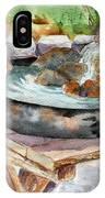 Rock Fountain IPhone Case