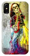 Rock N Roll The Bones IPhone Case
