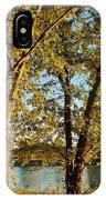Rock River In October IPhone Case