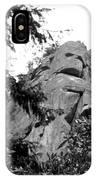 Rock Spirits At Yosemite B And W IPhone Case