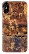 Rock Wall Of Petroglyphs IPhone X Case