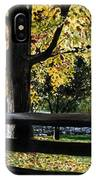 Rockford In Autumn IPhone X Case