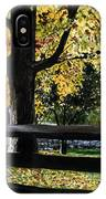 Rockford In Autumn IPhone Case