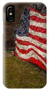 Rockin' The Flag IPhone Case
