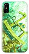 Rocking Horse Metal Toy IPhone Case