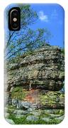 Rocks Along The Roadway IPhone Case