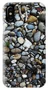 Rocks And Sticks On The Beach IPhone Case