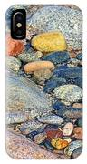 Rocks Of Many Colors On Lake Superior Shoreline In Pictured Rocks National  IPhone Case