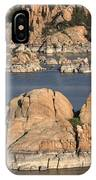Rocks Of Watson Lake  IPhone Case