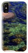 Rocks Ripples And Reflections IPhone Case
