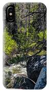 Rocks Water And Knarly Branches IPhone Case