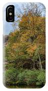 Rocky Falls In The Fall IPhone Case