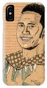 Rocky Maivia IPhone Case