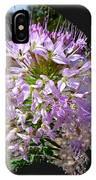 Rocky Mountain Bee Flower IPhone Case