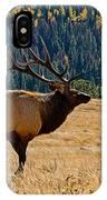 Rocky Mountain Bull Elk IPhone Case