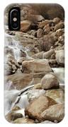 Rocky Mountain Cascade IPhone Case