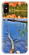 Rocky Mountain Lake IPhone Case