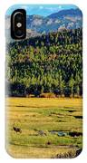 Rocky Mountain National Park Elk IPhone Case