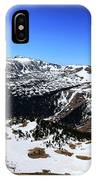 Rocky Mountain National Park Pano 2 IPhone Case