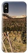Rocky Mountain National Park Vintage IPhone Case