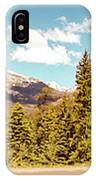 Rocky Mountain Panorama IPhone Case